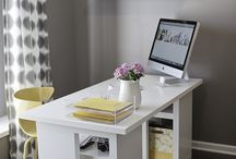 home office/studio / by Holly Gardner