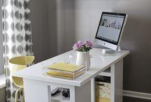 Home Office ideas / Office decor ideas