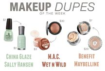 Makeup Dupes / by Chelsea Cervera