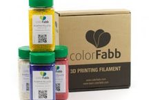 Pellets / These colorFabb pellets work fantastic with a filament extruder to produce filament for 3D printing. Available at: http://colorfabb.com/pellets