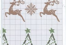 Vysivane Vianoce