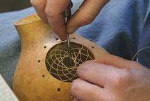 Kabak süsleme sanatı