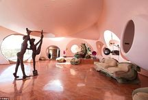 Eccentric, Bubble-Shaped French Villa Reopens / Eccentric, Bubble-Shaped French Villa Reopens . The bizarre mansion where fashion designer Pierre Cardin hosted debauched after-parties and runway shows for two decades has been put on sale for £300million.
