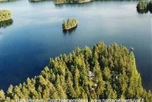 Niemennokka, 14+4hlö, 2 mökkiä, Mikkeli / Niemennokka, Härkäniemen Tuvat, Mikkeli, Finland