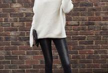 Hvit genser