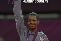 Gabby douglas / Amerykańska  gimnastyczka