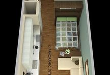 micro house layout