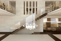 "Cafe ""Yerevan"" - ethno minimalism / Architects: Telemak ANANYAN, Gohar ISAKHANYAN 3d modeling and visualization: Karen AGHAJANYAN"
