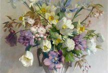 Цветочный натюрморт в живописи
