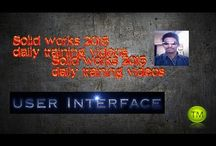Solid works / Hello my name is Ashok and welcome to solid works 2015 training. Solid works is a 3D computer aided design program that enables you to transform new ideas into great products.  In these videos most of the lessons are recorded in solid works 2015. So all new Fundamental commands available on solid works 2015 software have been recorded. After completing the lessons in these videos you will be well revised in solid works 2015 fundamentals from parts to assemblies to drawings.