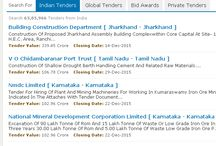 Latest Tenders Info 2016 / Get All Latest Information Regarding International and Indian Tenders 2016 Online.