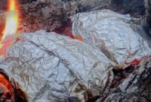 Camping and relax / Kempování, stanování, jídlo na ohni prostě všeochuť