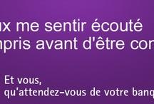 Campagnes / La BIL est à votre écoute et répond à vos questions. / by BIL Banque Internationale à Luxembourg