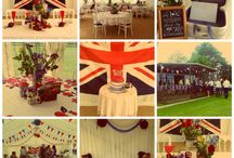 Newall & Wright - Typically British Wedding 2014 / A retro inspired British wedding. Planned, styled and coordinated by Newall & Wright.