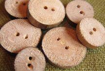 ETC (Wood, Horn, Bone) / Wood, Horn, Bone, Coconut, Tagua nut (vegetable ivory), CorozoWood, etc.