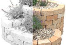 Kräuterspiralen Bausatz / Wer handwerklich nicht ganz so geschickt ist oder einfach nicht so viel Zeit hat, kann sich einfach einen Kräuterspiralen Bausatz kaufen. So kommt man ganz einfach an eine eigene Kräuterschnecke.