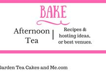 Afternoon Tea Cakes, Scones & Treats / Recipes and hosting ideas to hold your own Afternoon Tea at home. Also recommendation for best venues in the UK.