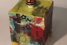 keramik beholder