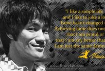 Bruce lee quotes & pics / by Heather Anthony