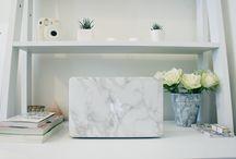 Minimalist Workspace / Scandinavian Sleek, Minimalist Interiors