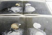 Anciens objets du deuil / 4 livres uniques, Leporellos : écritures : Christian Nicaise... peintures originales de Michèle Riesenmey  papier Moulin de Larroque  Edition : l' Instant Perpetuel