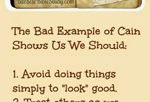 Examples--Good and Bad