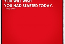 A Year From Now You'll Wish You Started Today / let's do this!
