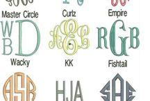 Monograms / by Bridget