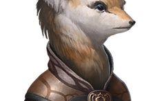 RPG Inspiration Fox Folk