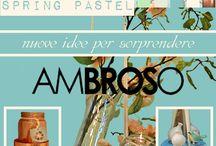 #SPRINGPASTEL - PRIMAVERA 2015 / #Ambroso: Nuove #idee per sorprendere… Scopri in anteprima gli articoli in arrivo su: http://www.ambroso.it/spring-pastel Venite a trovarci presso i nostri #showrooms di #Brescia e #Verona: http://www.ambroso.it/contatti #springpastel #primavera2015