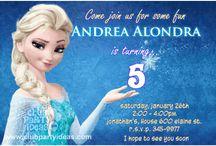 Frozen Disney birthday Invitations / Frozen Disney birthday Invitations