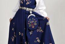 National costumes / Bunader Norge