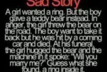 sad stories:'(