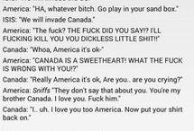 America x Canada lol