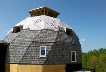 roofing geodesic dome