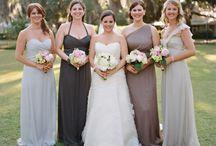 Wedding dresses - bridesmaids etc