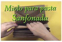 Pasta sanfonada