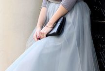 Tüllrock | Tüll, Outfits, Inspiration / Tulle dresses, skirts and outfits