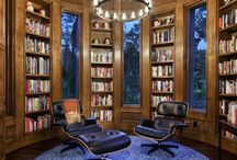 BIBLIOPHILE - Lavish Libraries / by Adriana Contreras