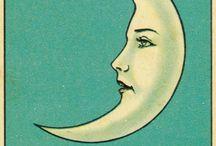La luna - Varias barajas
