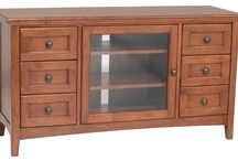 Entertainment Centers / A variety of the entertainment centers we stock or can order
