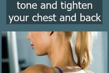 Tone chest and back