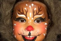 Kerst face painting