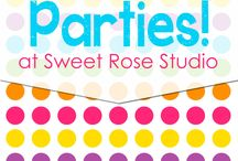 Party time! / Party ideas! :)