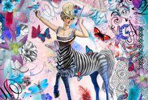 Christian Lacroix collage