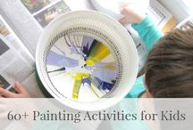 Creative Ideas for Toddlers / Art, Craft and fine motor skill experiences for 2-3 year olds