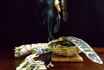Smudging / Ancient practice of smudging with sage