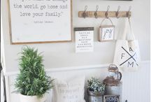 {Home} Farmhouse Decor Ideas