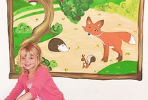 Animal & Wildlife Murals / Hand painted children's murals by Cheshire artist Joanna Perry. Take a look at these animal & wildlife designs from Joanna's portfolio.