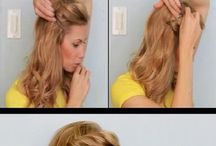 Hairstyle  / A couple of Hairstyle. Check out also the wall-Jus i LOVE Braid!-